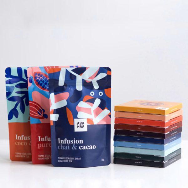 Cliquez ici pour acheter Chocolat AVANAA la totale + trio de tisanes