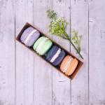 Savons artisanaux - Coffret de 4 macarons