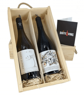 Coffret cadeau prestige – Boîte à vins du Québec