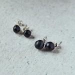 Boucles d'oreilles perles écoresponsables