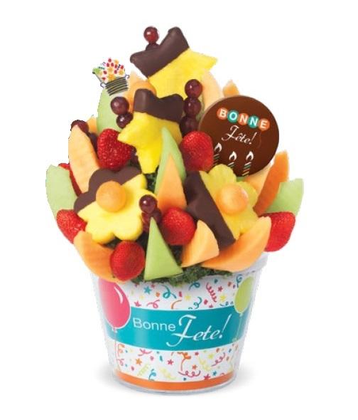 Cliquez ici pour acheter Bouquet de fruits – Célébrons ta fête