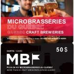 La Carte MB - Microbrasseries du Québec