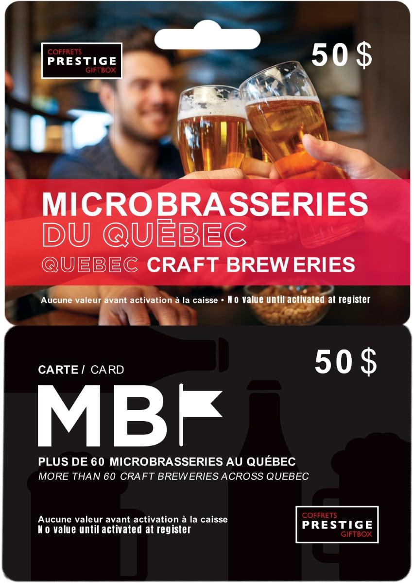 Cliquez ici pour acheter La Carte MB – Microbrasseries du Québec