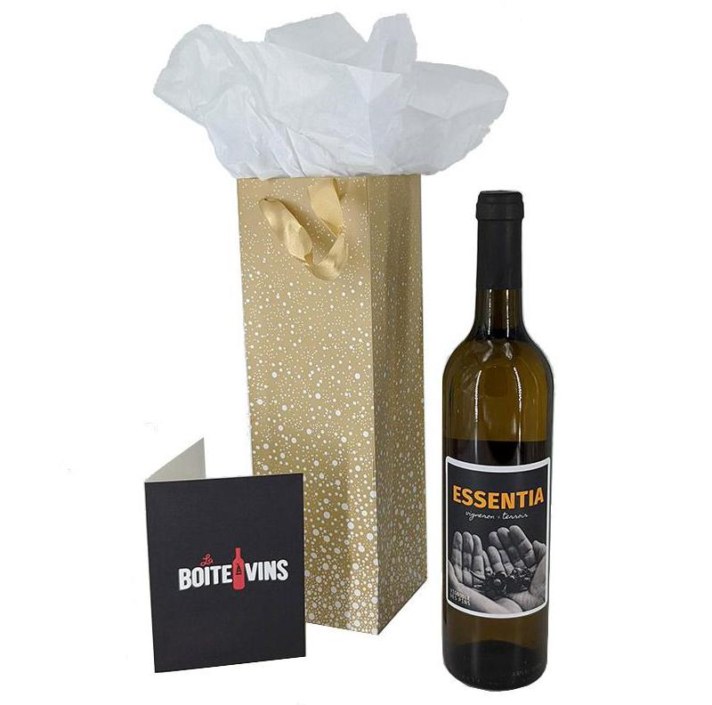 Sac cadeau – Vin ou cidre du Québec