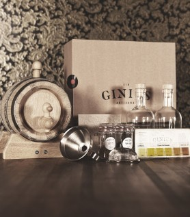 Combo Kit de Gin D.I.Y. + Baril