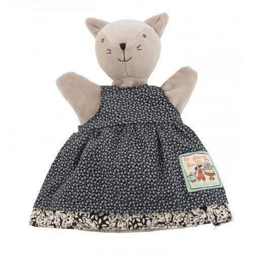 Cliquez ici pour acheter Marionnette à main – Agathe le minou