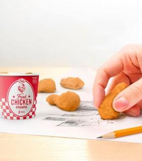 Seau de poulet frit pour effacer