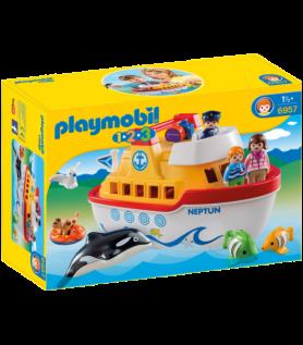Playmobil – bateau transportable