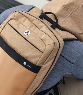 AEER Luxus – Sac à dos avec capuchon