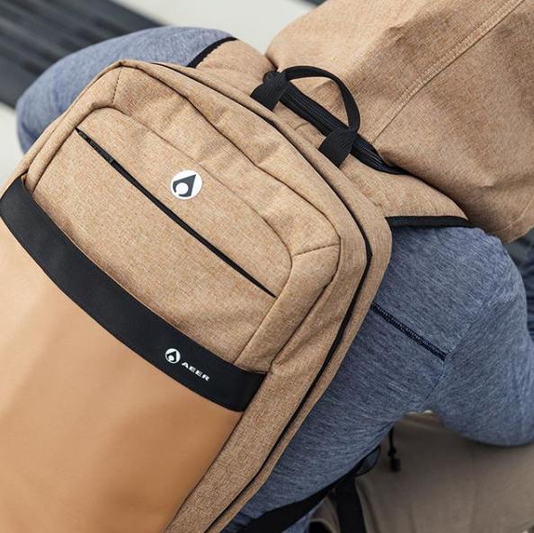 Cliquez ici pour acheter AEER Luxus – Sac à dos avec capuchon