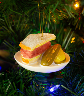 Décoration Sapin de Noël – Smoked Meat