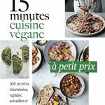 15 minutes - Cuisine végane à petit prix