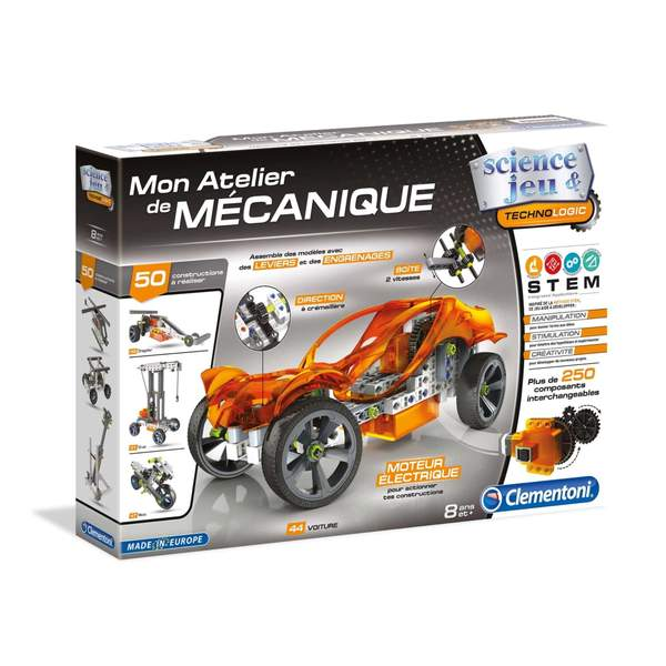Cliquez ici pour acheter Mon atelier mécanique