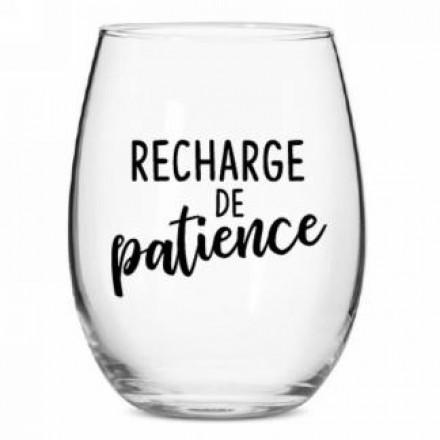 Verre à vin – Recharge de patience