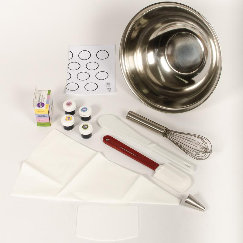 Cliquez ici pour acheter Kit D.I.Y – Fabrication de macarons