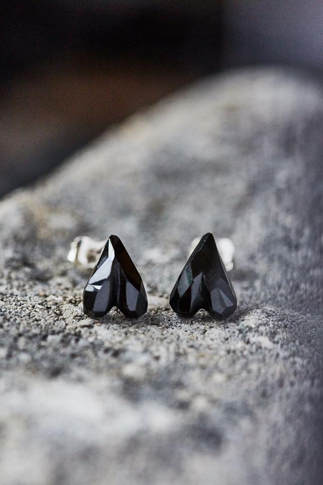 Cliquez ici pour acheter Boucles d'oreilles écoresponsables – Coeur-à-l'envers