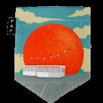 Cliquez ici pour agrandir l'image Poche Orange Julep