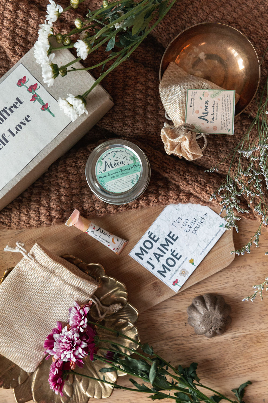 Cliquez ici pour acheter Coffret cadeau Atoca – MOÉ J'AIME MOÉ