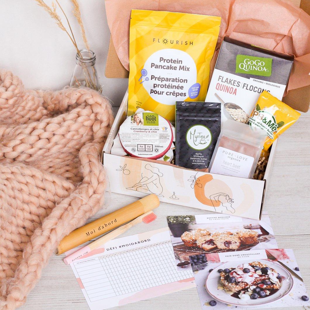 Cliquez ici pour acheter Moi d'abord – Boîte mensuelle santé