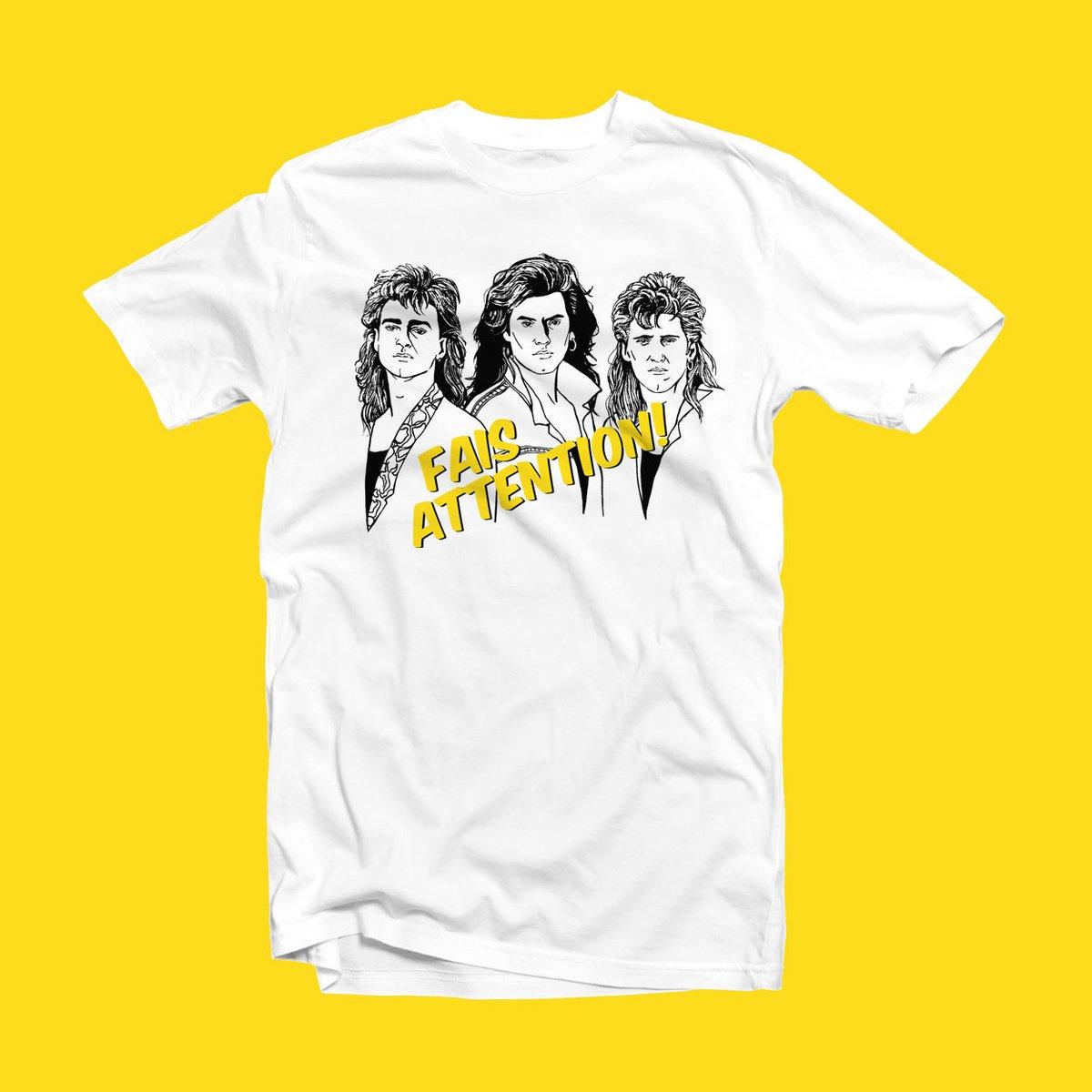 Cliquez ici pour acheter T-shirt Les BB – Fais attention