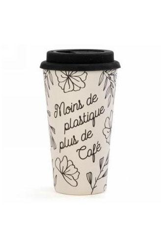 Cliquez ici pour acheter Tasse en bambou – Moins de plastique