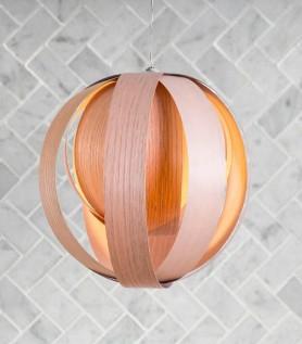 Lampe en bois – Boule 11»