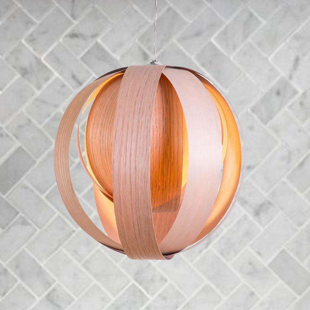 Cliquez ici pour acheter Lampe en bois – Boule 11»