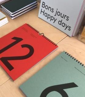 Calendrier journalier et coloré
