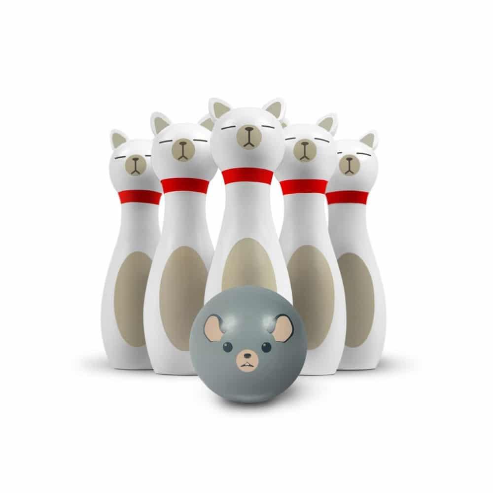 Cliquez ici pour acheter Bowling en bois – Chats et souris