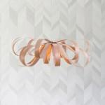 Lampe en bois (Merisier rouge) - June