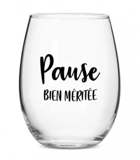 Verre à vin – Pause bien méritée