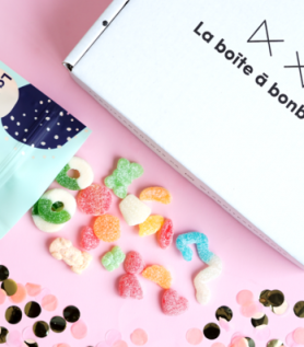 Boîte à bonbons gourmande