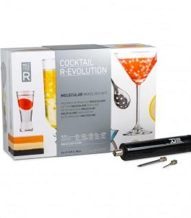 Cocktail moléculaire R-Évolution et seringue culinaire
