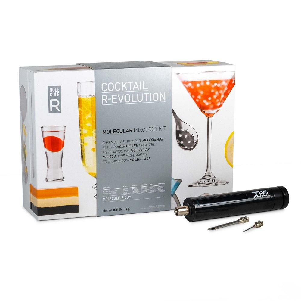 Cliquez ici pour acheter Cocktail moléculaire R-Évolution et seringue culinaire
