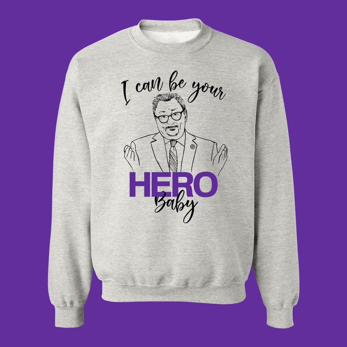 Cliquez ici pour acheter Chandail Horacio Arruda – I can be your Hero baby