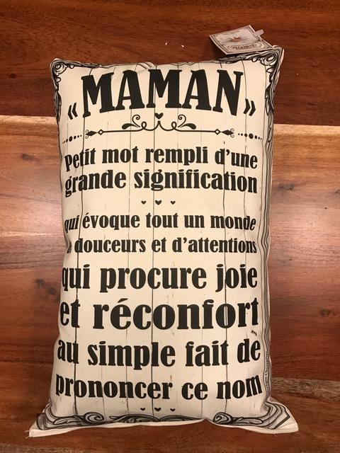 Cliquez ici pour acheter Coussin – Maman