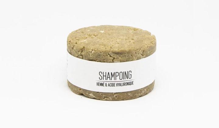 Shampoing en barre au Henné