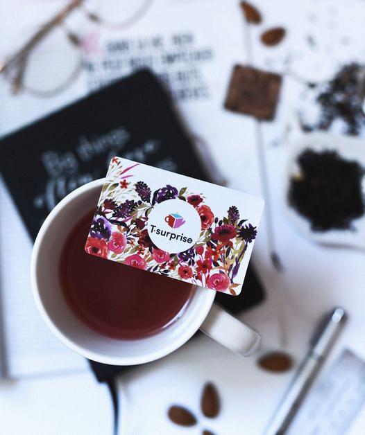 Cliquez ici pour acheter Carte cadeau 3 mois de thé (T-Surprise)
