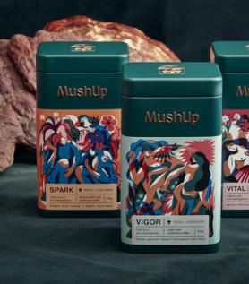 Trio de café deluxe – MushUp