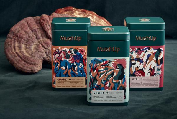 Cliquez ici pour acheter Trio de café deluxe – MushUp
