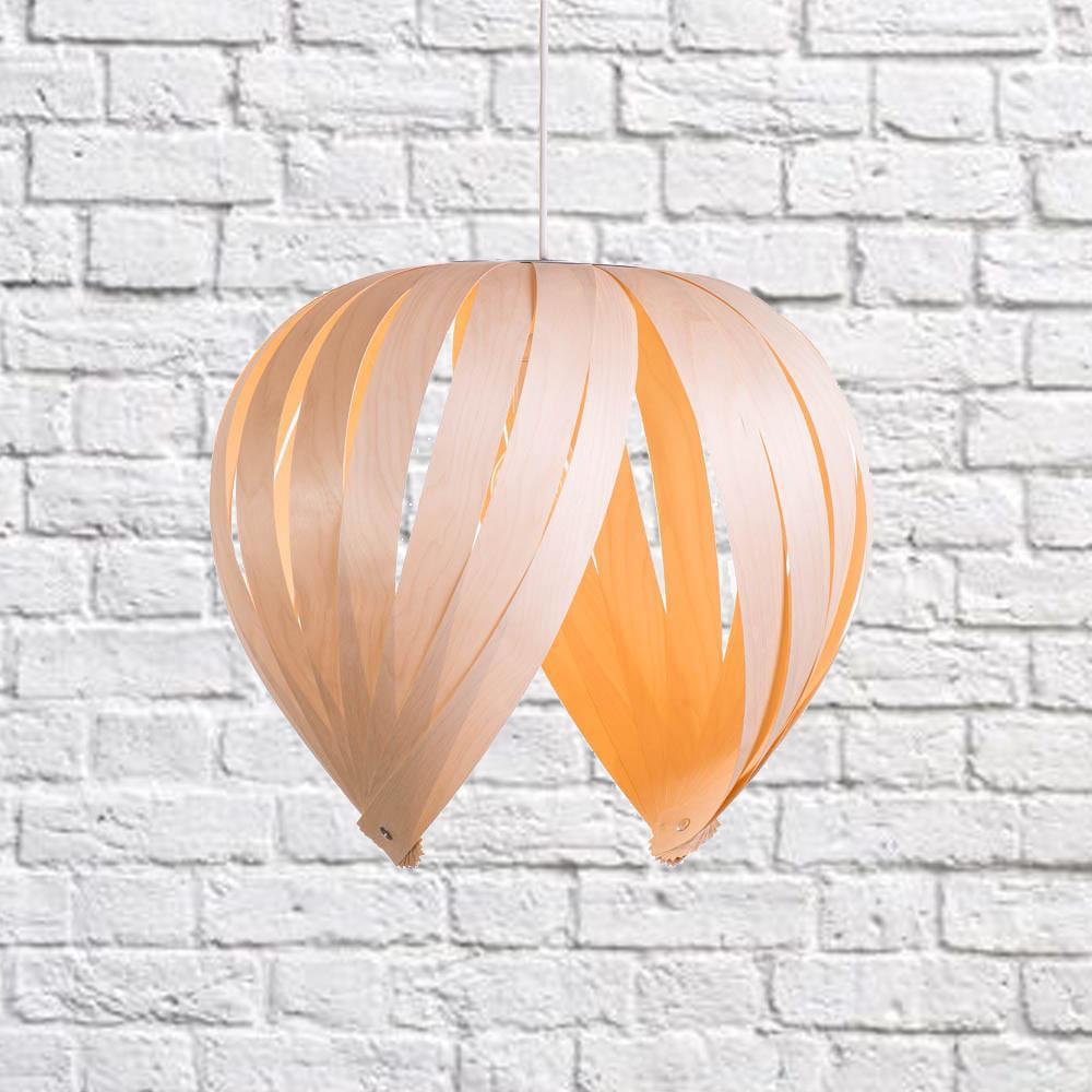 Cliquez ici pour acheter Lampe en bois (Merisier blanc) – Noisette
