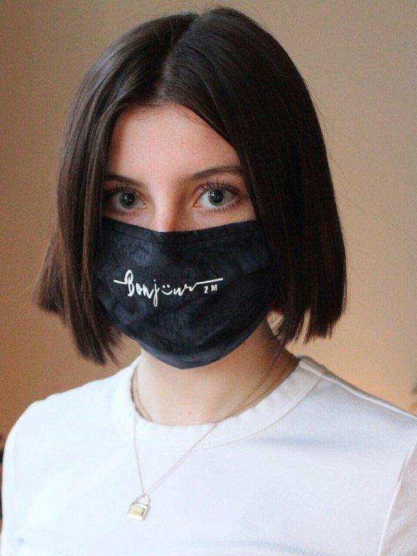 Cliquez ici pour acheter Masque lavable – Bonjour 2 M