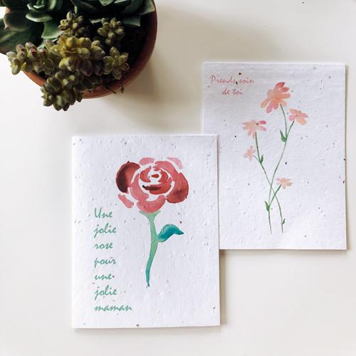 Cliquez ici pour acheter Fête des mères – Cartes à planter