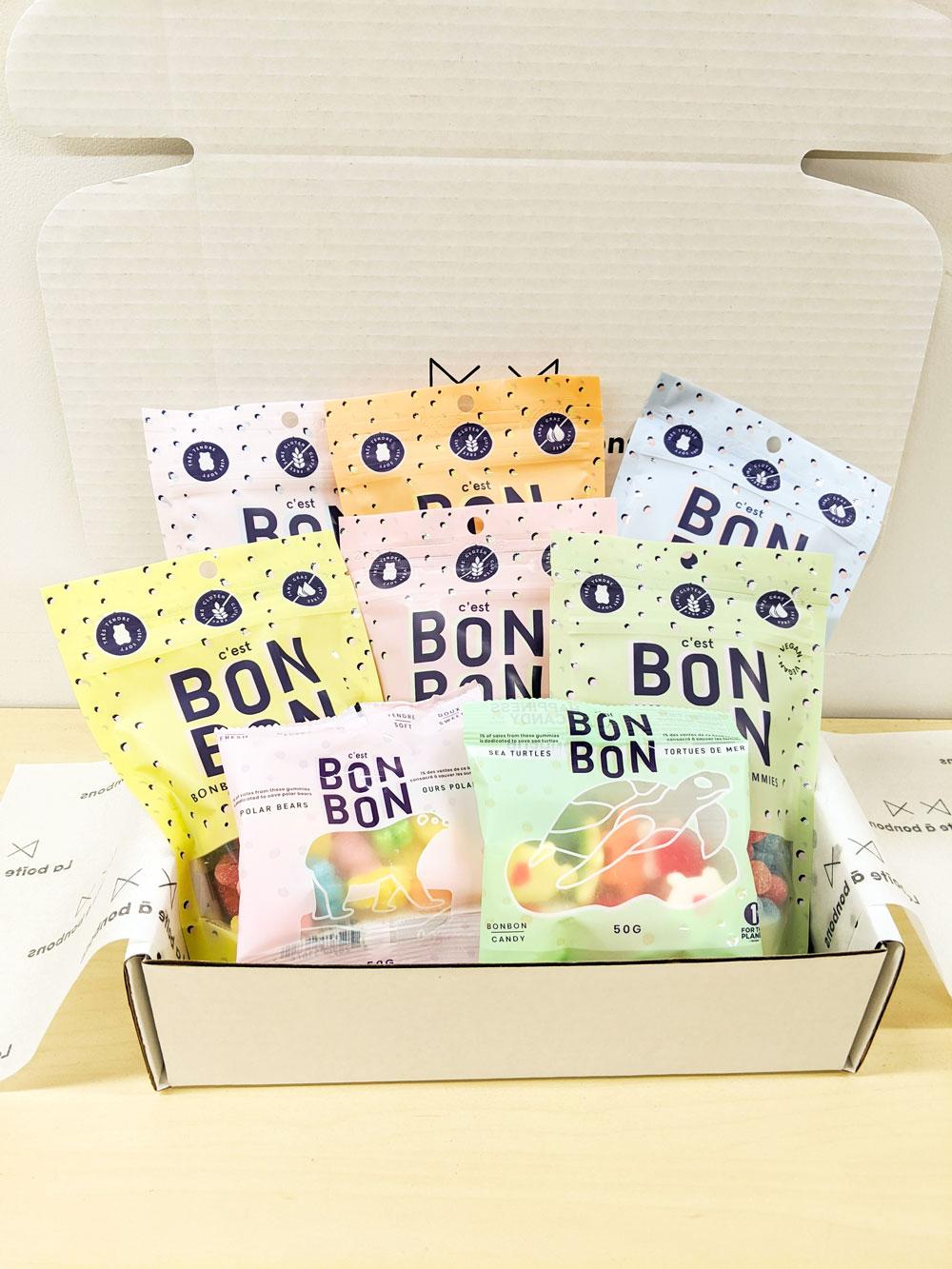 Cliquez ici pour acheter Boîte découverte – C'est BONBON