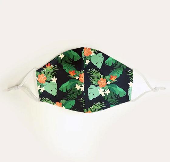 Cliquez ici pour acheter Masque en tissu estival