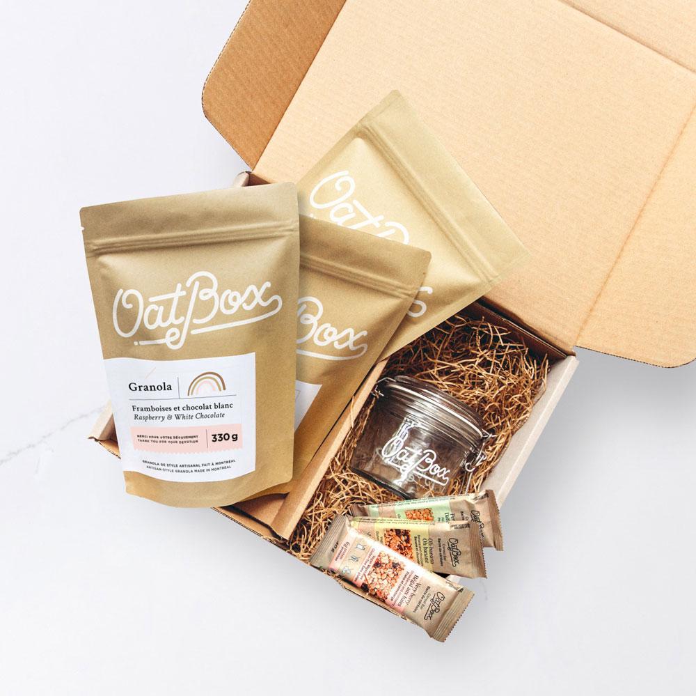 Cliquez ici pour acheter Oatbox – La boîte MERCI
