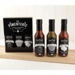 Trio de sauces piquantes - La Pimenterie