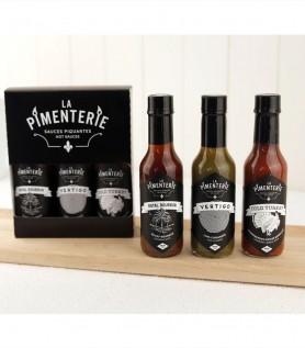Trio de sauces piquantes – La Pimenterie