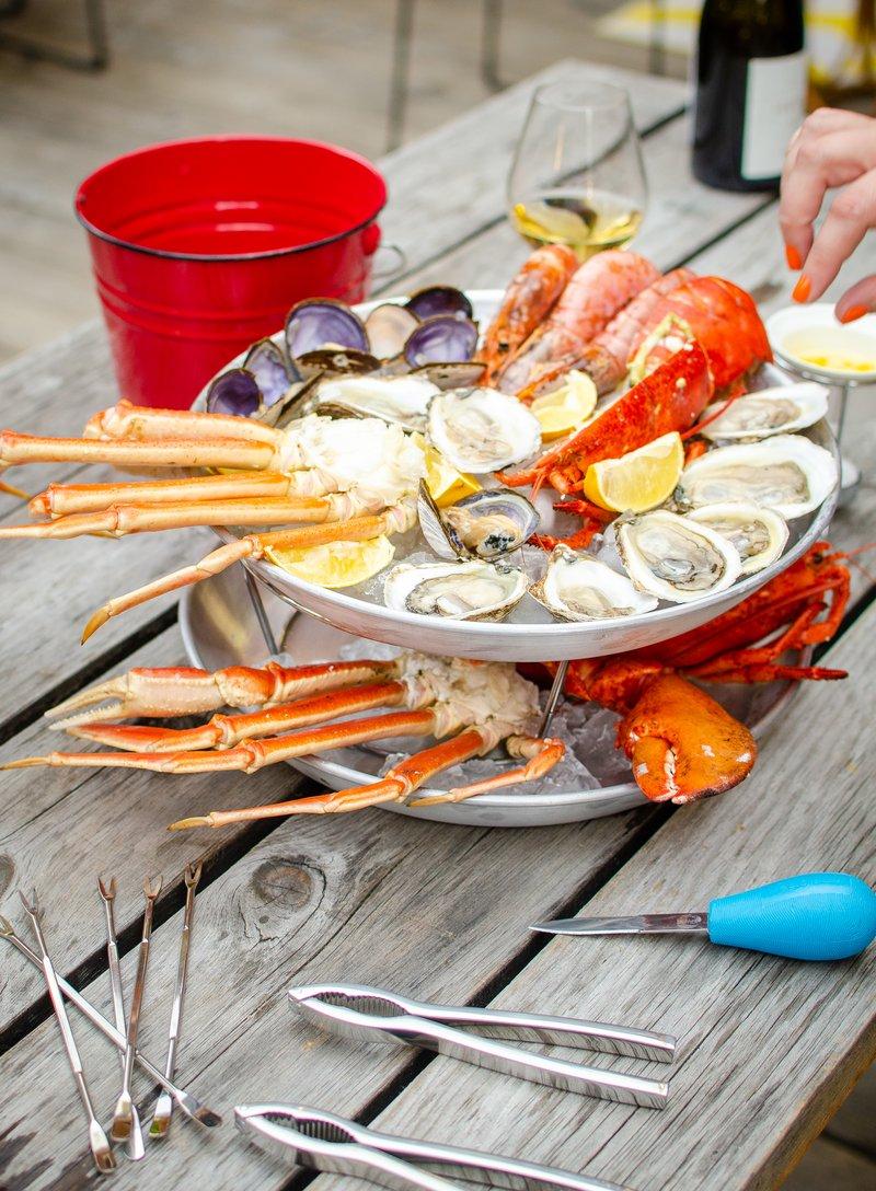 Cliquez ici pour acheter Ensemble à fruits de mer
