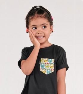 T-Shirt pour enfant – Choisis ta poche